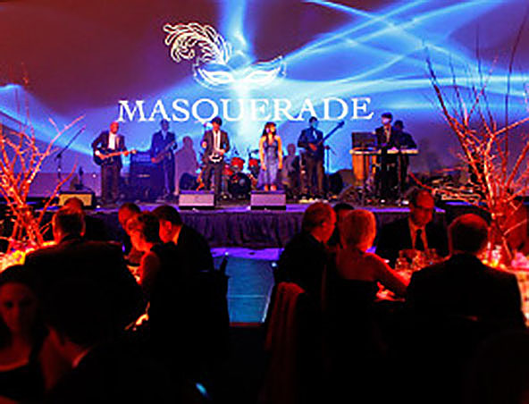 Masquerade Cover Band Melbourne - Musicians Singers Hire - Band Hire